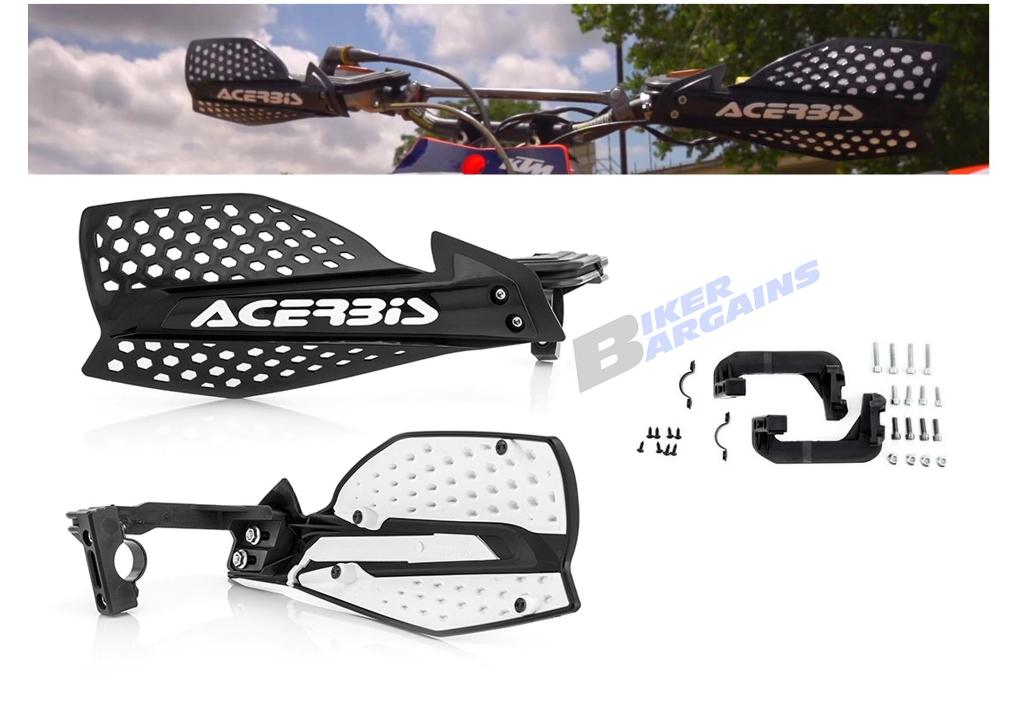 ACERBIS ULTIMATE HAND GUARDS BLACK